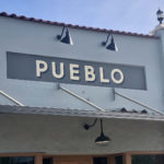 """Pueblo"" sign"