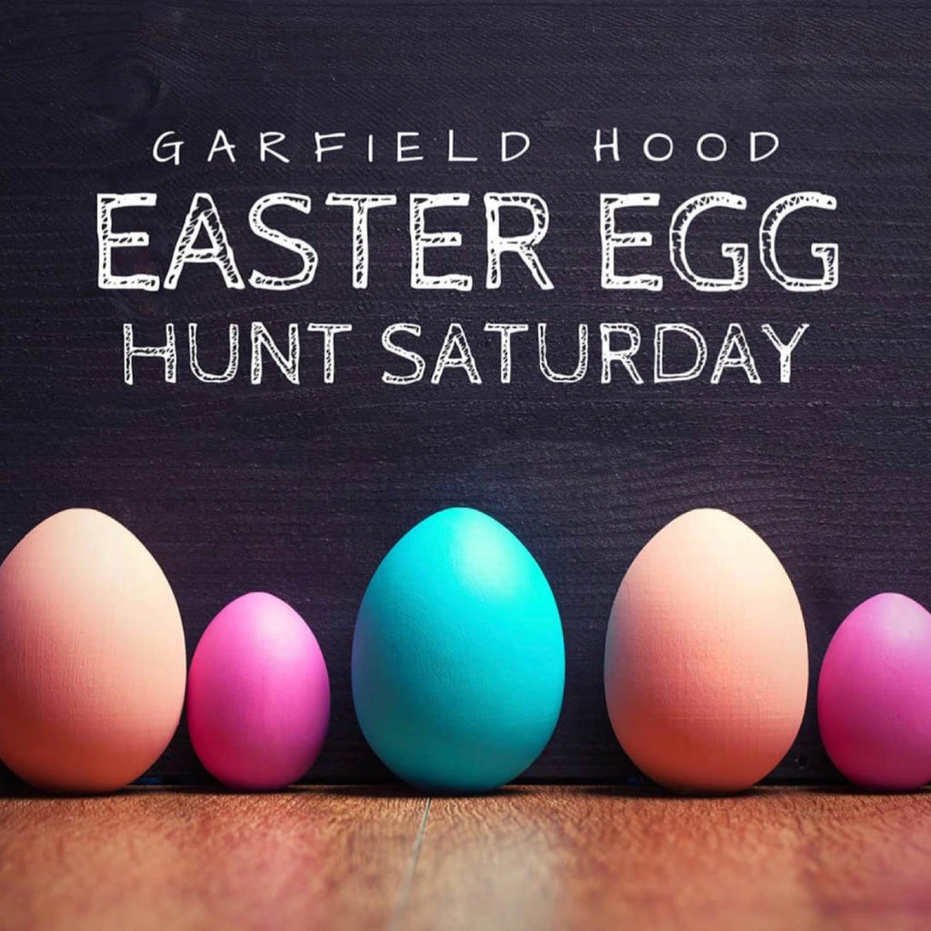 Garfield Hood Easter Egg Hunt - Saturday
