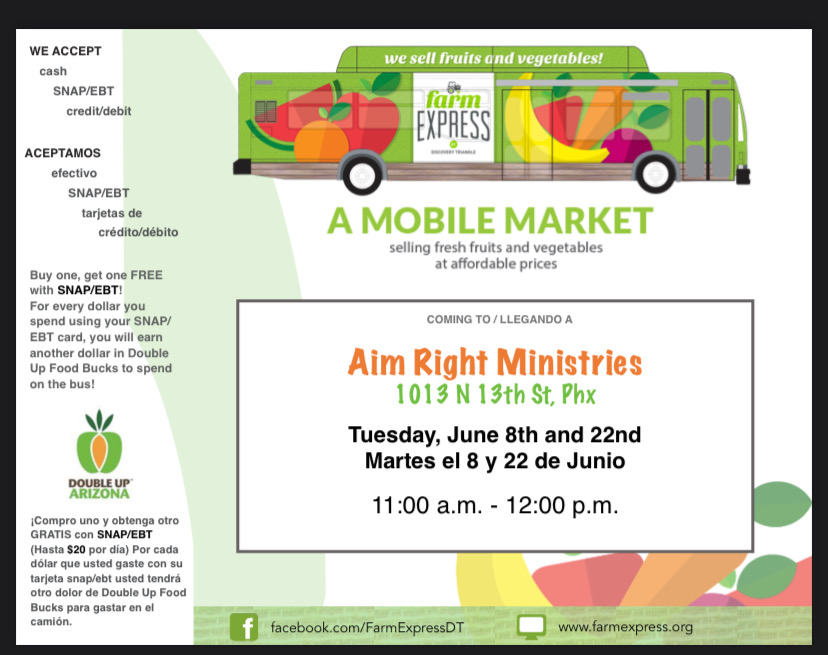A Mobile Market (flyer)