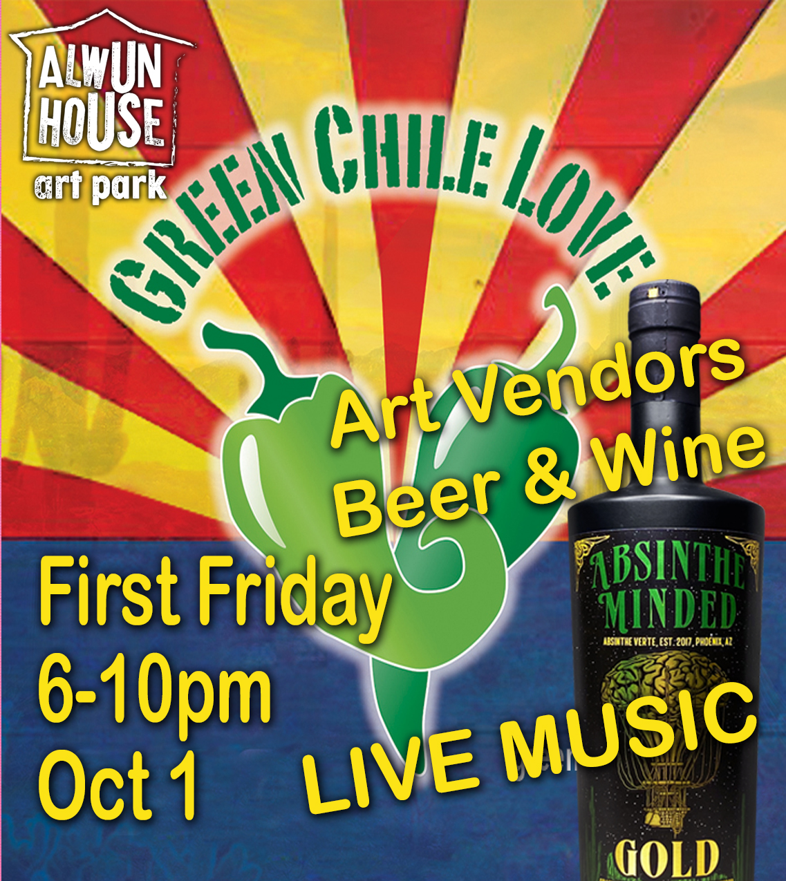 October First Friday at Alwun House Art Park